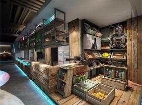 餐厅设计-西点军蟹第二代形象