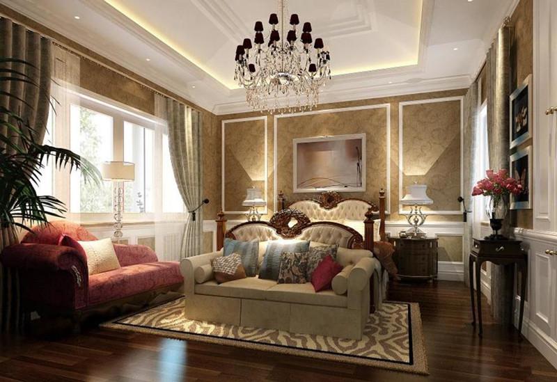 颐和原著别墅卧室