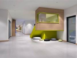 浙江宝贝世家幼儿园设计1500㎡  西安言筑商业空间设计