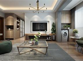 (觀飾界室內設計定制機構)海珀蘭軒北歐風格設計