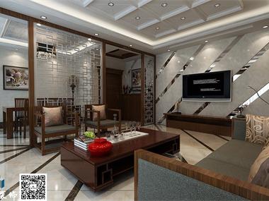 郑州翡翠城新中式,现代手法表现出中式的新韵味