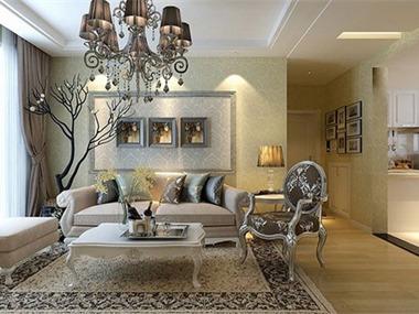 简约风格设计案例客厅