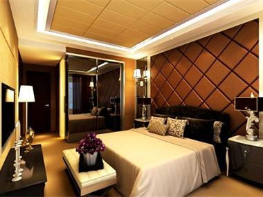 190平中式风格家装案例图卧室