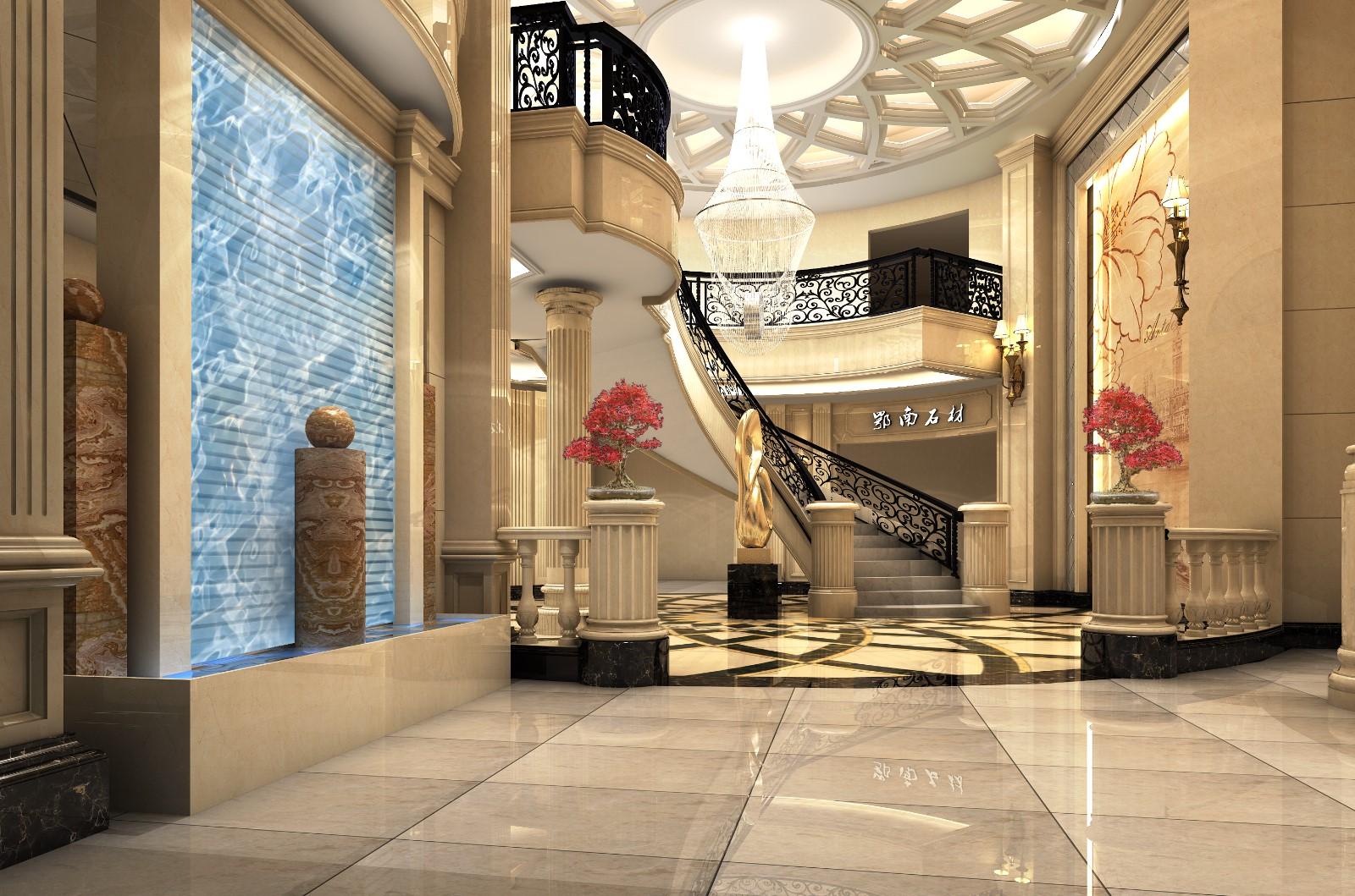 展厅楼梯效果图