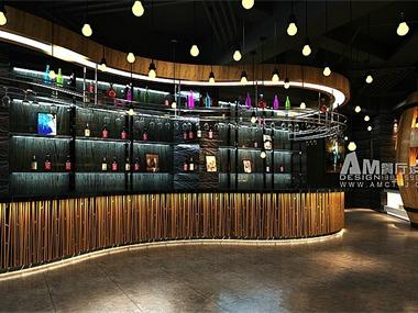 辽宁欧漫西点主题餐厅设计餐饮空间