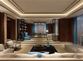现代中式--中国蓝