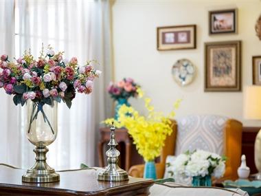 美式客厅其它实景图