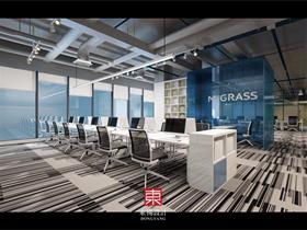 赵煦阳设计作品-生态科技公司办公空间