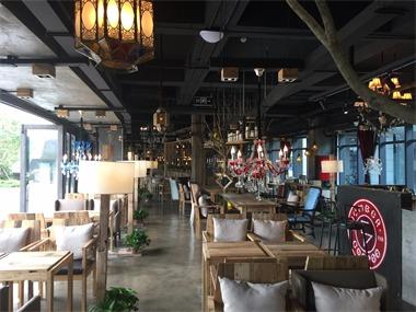 咖啡厅就餐区实景图