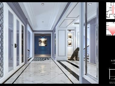 上海浦东虹桥花园公寓-摩登贵族·法式新演绎