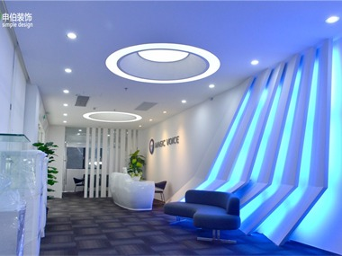 申伯装饰——广州魔音音响公司办公室装修设计工程