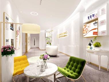 广州跑马场美容院装修设计案例