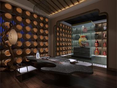旭東設計-古越龍山黃酒餐廳