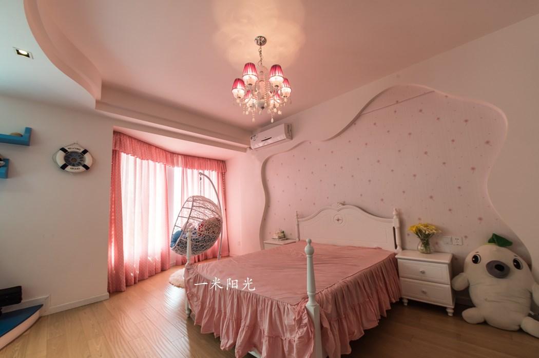 地中海儿童房吊顶实景图