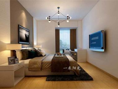 现代卧室吊顶效果图