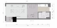 苏州圆融公寓户型设计平面图
