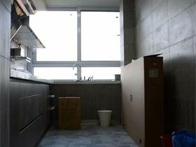 混搭厨房吊顶实景图