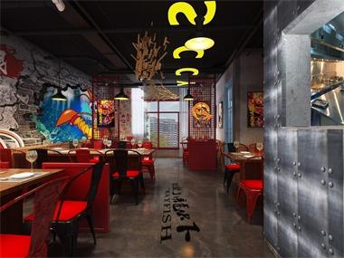 旭东设计-辣家私厨大虾餐厅