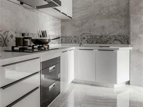 中式厨房吊顶实景图