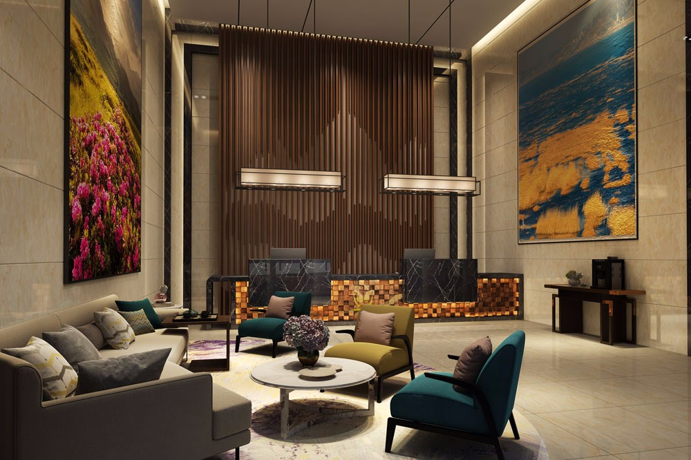 淮南专业酒店设计-红专设计|空中花园酒店
