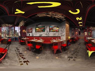 辣家私厨餐厅设计