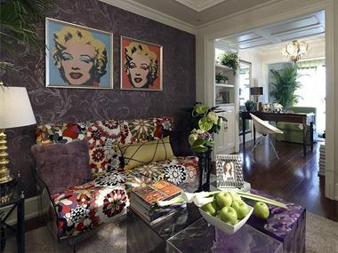 古典混搭风格装修实景图客厅