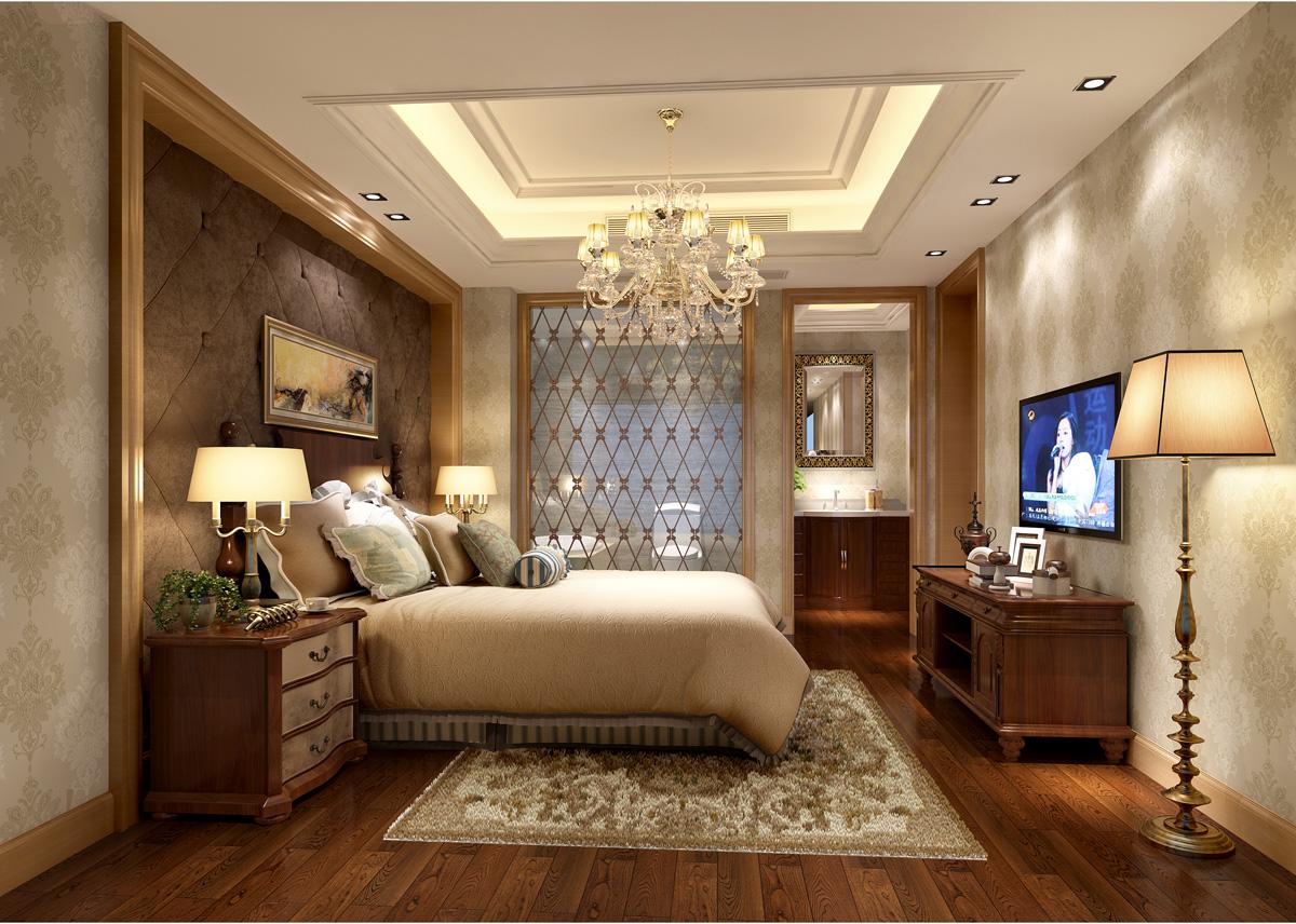 蓝色港湾卧室
