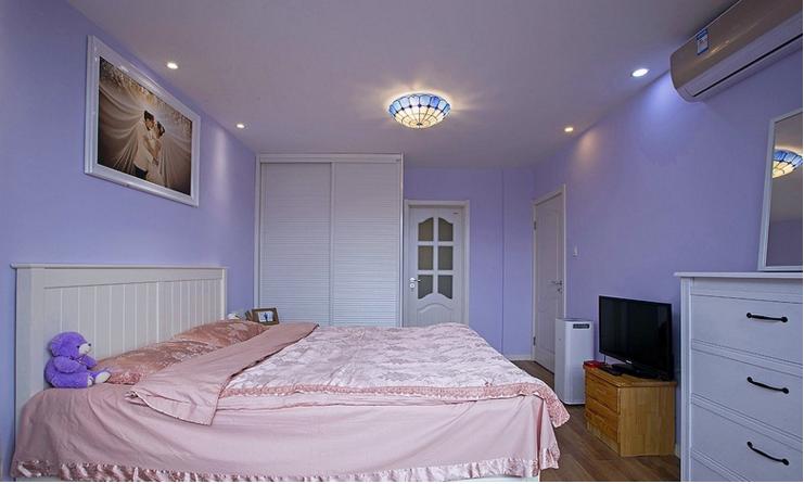 蓝色的海洋卧室