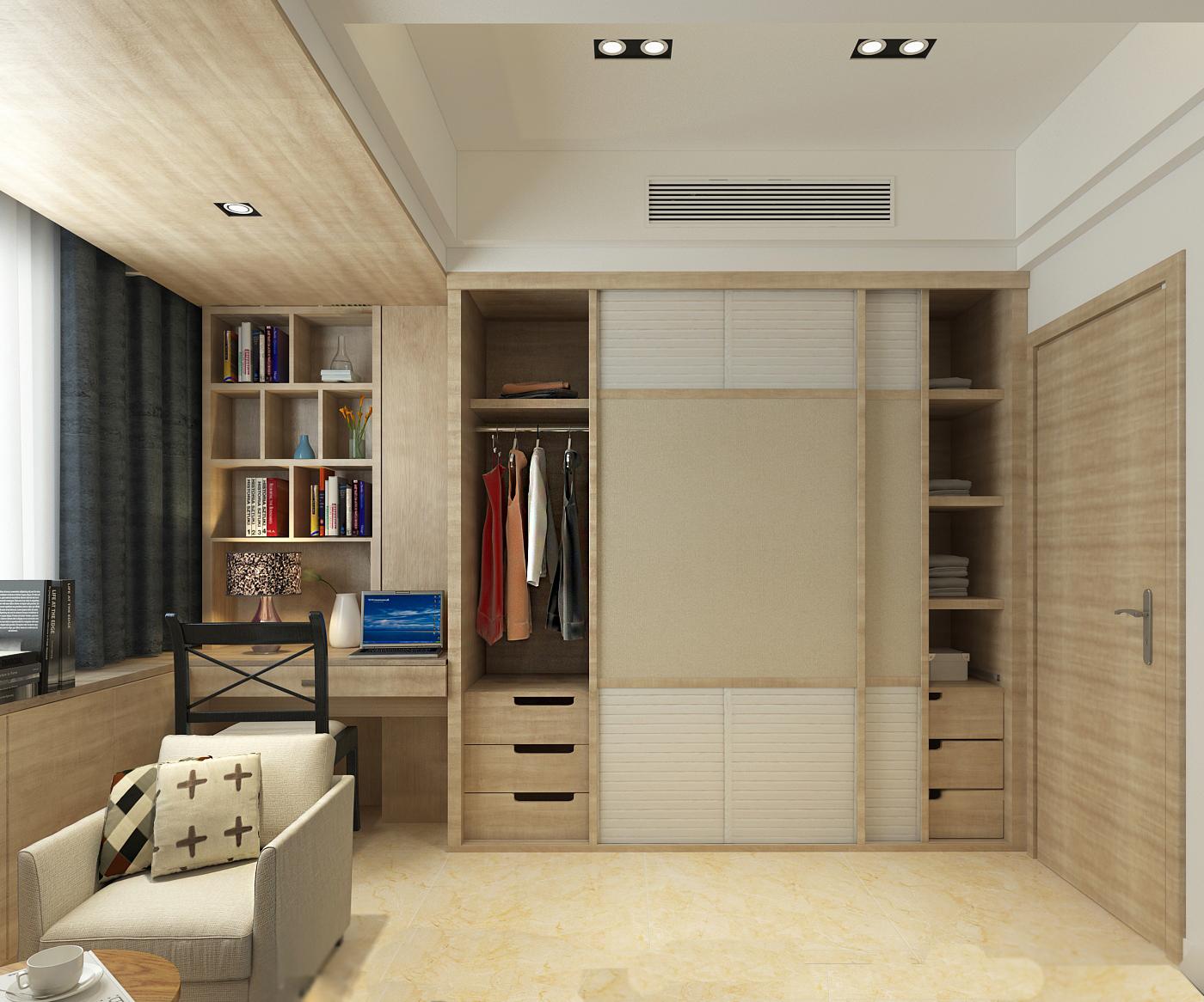 现代卧室其它效果图