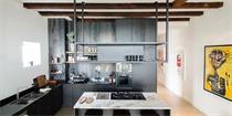 阿姆斯特丹公寓:loft风格与传统元素的完美结合