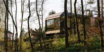 巴塞尔森林小屋,与自然的对话