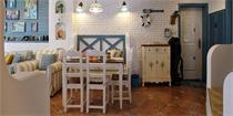 卡座式餐厅,小户型节省空间装修的不二法则