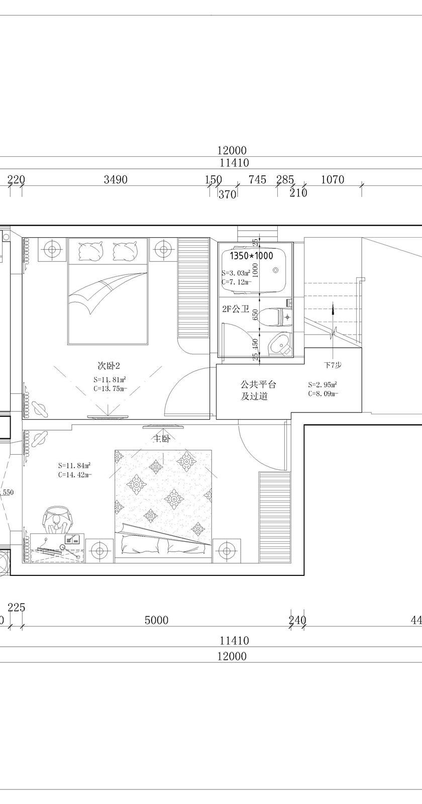 欧式家装平面布置图