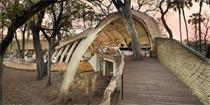 与动物同眠林下,不知道这样的游猎营地酒店你敢住吗