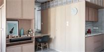 香港33平米公寓装修 打造全新蜗居时代