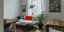 瑞典20平米公寓装修 小小空间里满足你所有的需求