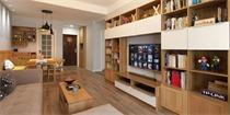 教你如何打造一堵兼顾收纳的电视背景墙 挖掘客厅收纳新空间