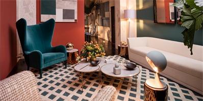 se品牌家具展 用se系列家具精心布置的现代公寓