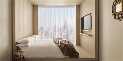 """""""精品酒店之父""""纽约新酒店开业 他说要用平价享受奢侈体验"""