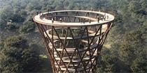 螺旋景观塔|带你全视角一览丹麦