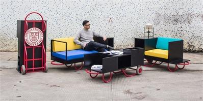 """能便捷移动、可自由组合的""""手推车""""定制家具"""