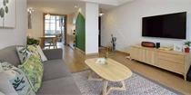 80㎡日式小二房,原木元素营造出自然舒适的轻松氛围