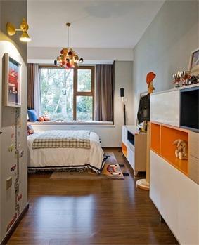 日式儿童房飘窗效果图