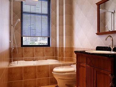 中式卫生间窗户效果图