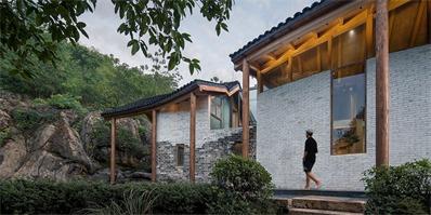 《漂亮的房子》安徽改造项目,传统与当代结合的铜陵山居