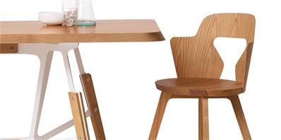 alfredo haberli木制新品stammplatz 舒适实用手工座椅