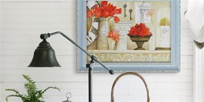 掌握室内装饰画搭配五大原则 小白也能自己完成家居配画