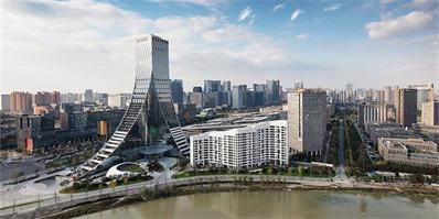 成都Icon云端:俯瞰天府河的地标性建筑