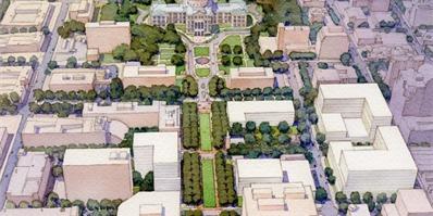 2017ASLA分析规划类荣誉奖:得克萨斯州议会大厦整体规划