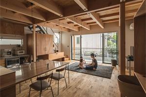 日本滋贺野路住宅,储物空间的高效利用
